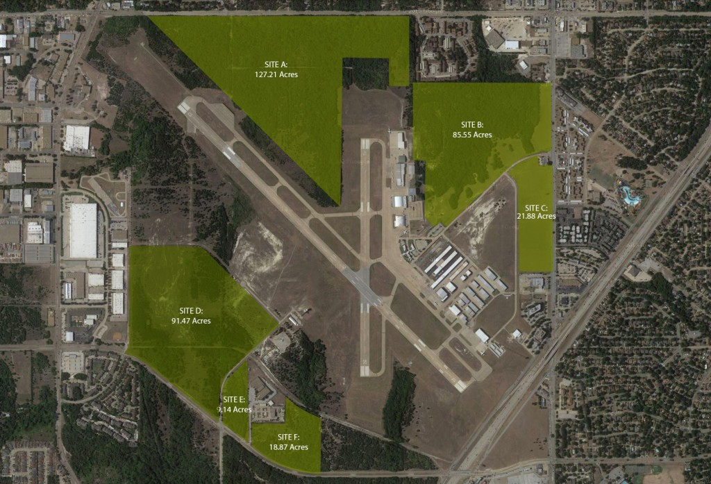 Dallas Executive Airport Land Map Non Aeronautical